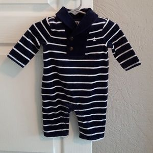 NWT Janie and Jack Plush Sailor 1 Piece